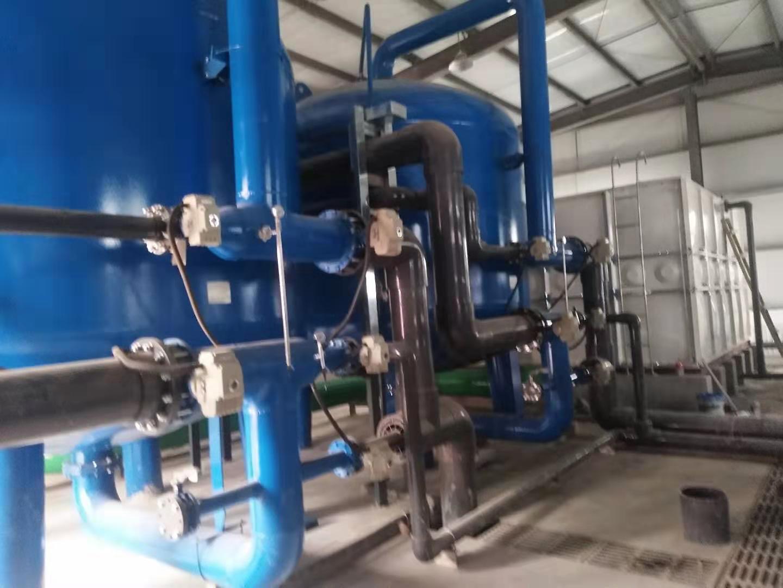 农村安全饮水处理德赢vwinac米兰--150m³/H2反渗透除氟、除砷