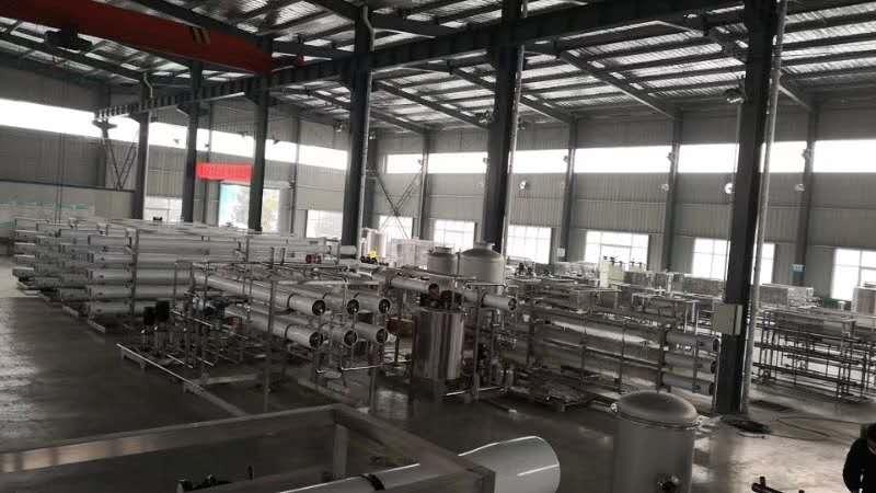 新厂房经过8个月的筹备正式投入使用