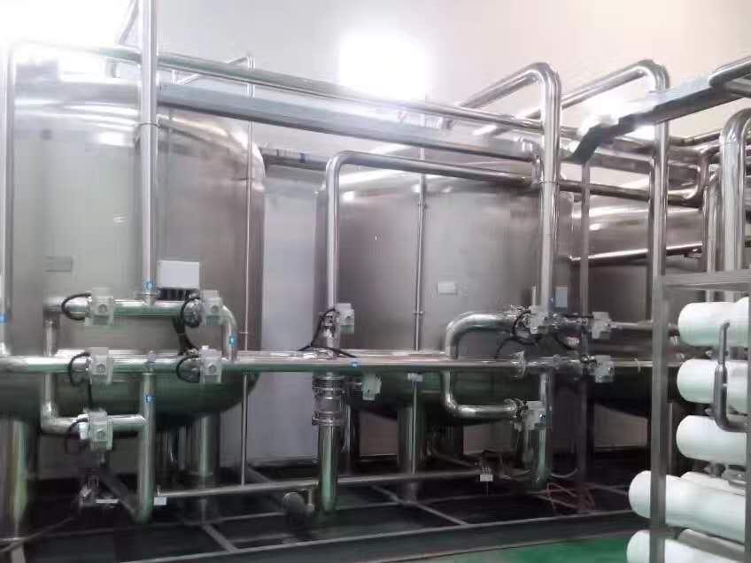 超纯水设备:60吨/小时超纯水项目设备