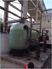 新疆热力公司锅炉补给水软化器(30m³/H2)