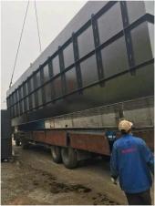 新疆伊犁地区地埋式一体化生活污水处理(520m³/小时)