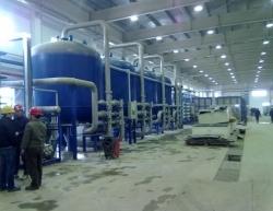 新疆阿克苏青松电厂反渗透超纯水系统