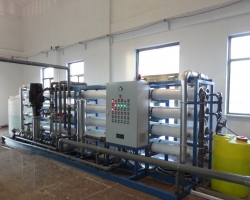 南疆军区营房苦咸水淡化设备