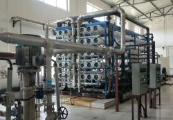 五彩湾2660MW机组(2150m³/小时超滤+RO反渗透+离子混床)纯化水工程完工