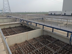 伊犁20000m³/D生活污水处理厂提标改造建设完成