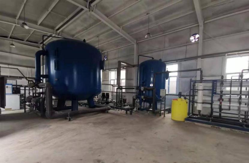 安全饮水设备(RO反渗透设备)